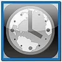 World Clock Screensaver iPhone