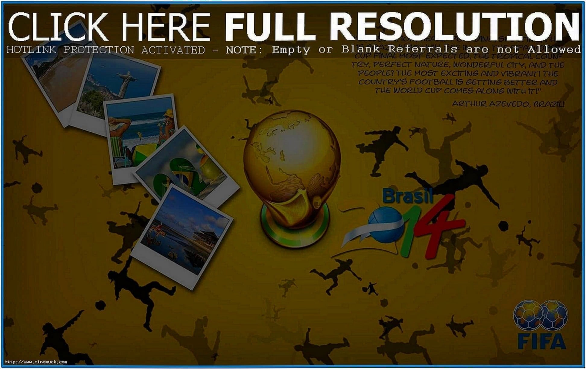 World Cup 2020 Schedule Screensaver