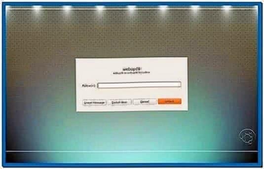 XFCE Gnome Screensaver Lock