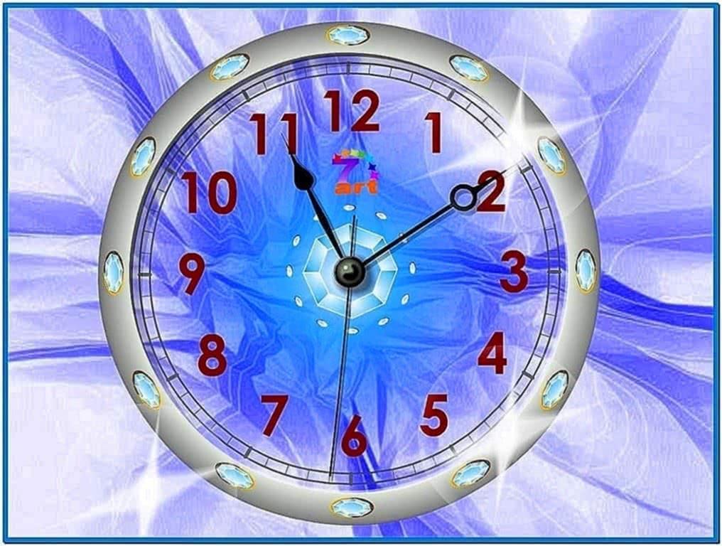 XP Screensaver Clock Freeware