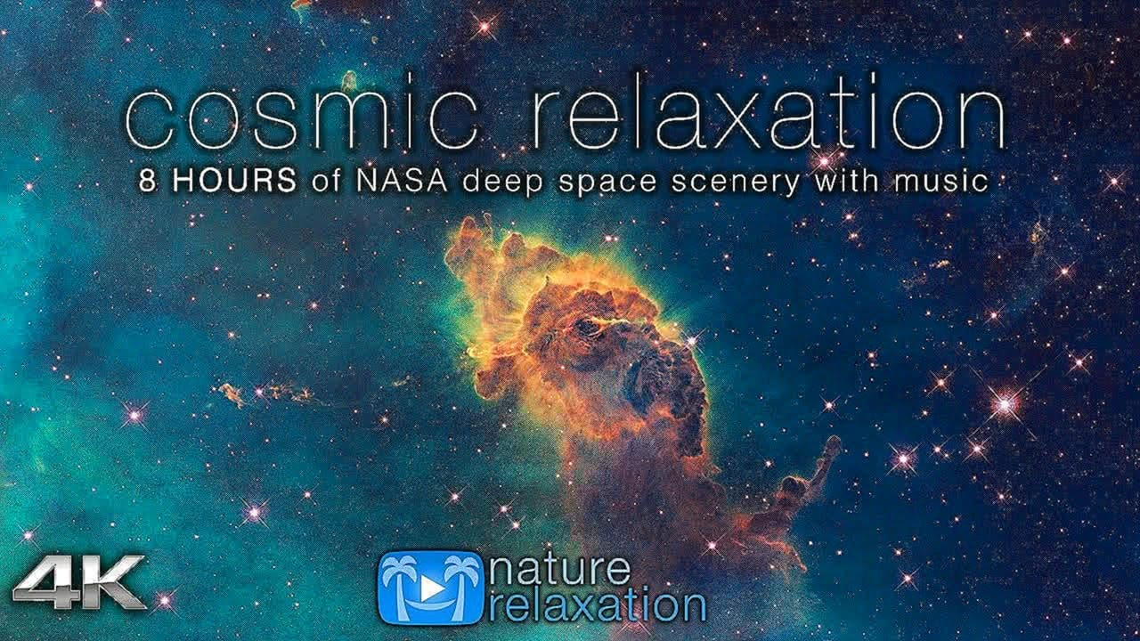 COSMIC RELAXATION: 4K Deep Space NASA Footage