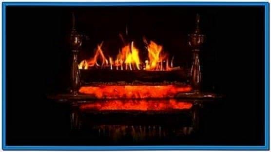 Yule Log Fire Screensaver Download Free