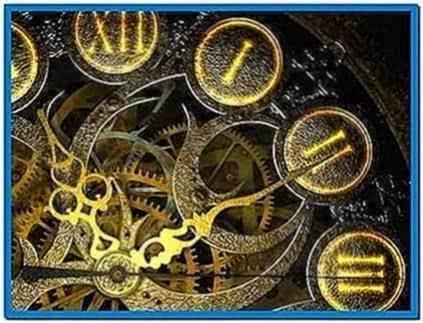 Zodiac Clock 3D Screensaver 1.0 Espanol