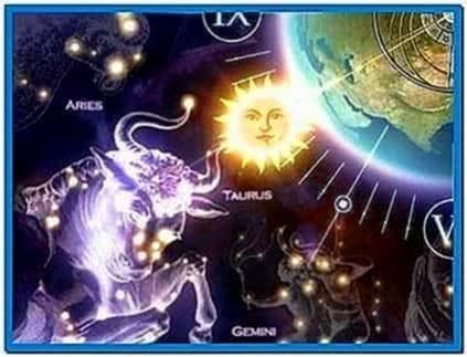 Zodiac Clock 3D Screensaver 1.0 Espanol