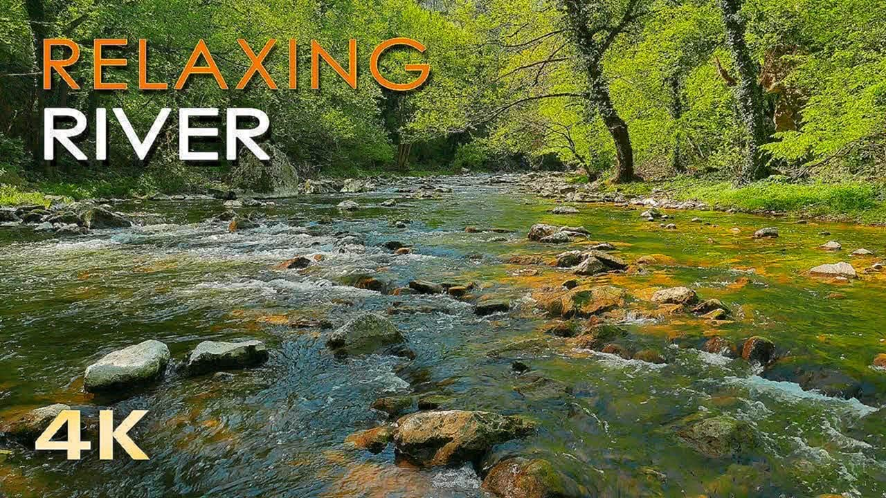 Video 4K Relaxing River